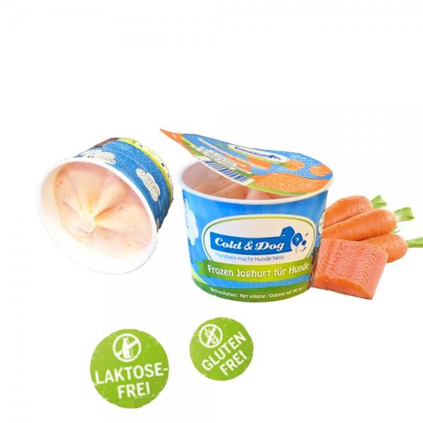 Frozen Joghurt mit Wildlachs