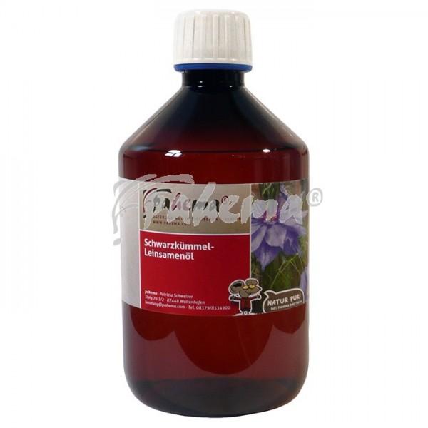 Schwarzkümmel-Leinsamenöl