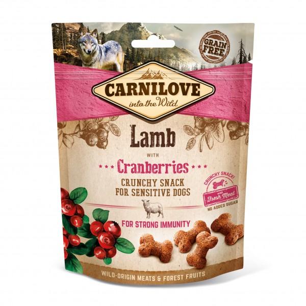 Crunchy Snack - Lamm mit Preiselbeeren