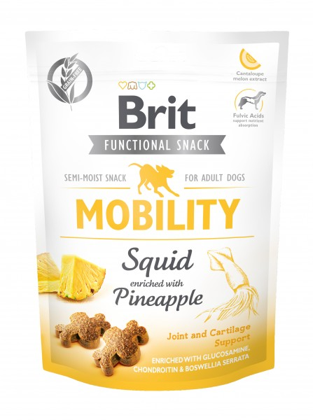 Functional Snack - Mobility - Tintenfisch & Ananas
