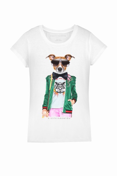 TIE DOG T-SHIRT RODEO