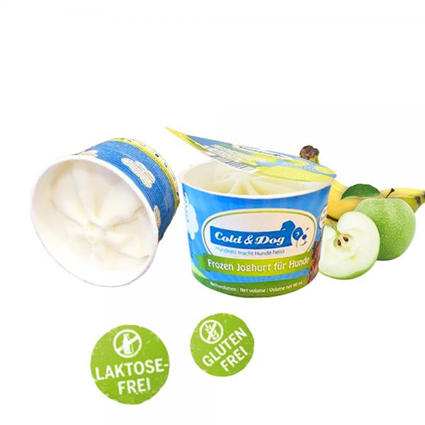 Frozen Joghurt mit Apfel & Banane