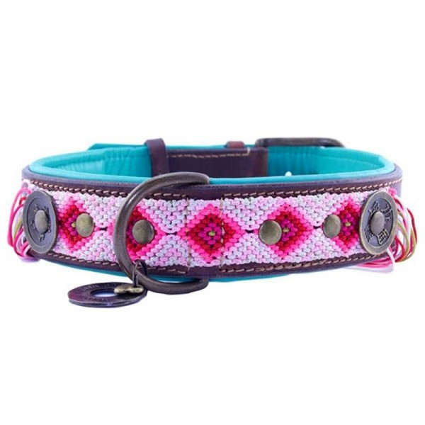Hundehalsband GYPSY LUCKY BLOOM 4cm