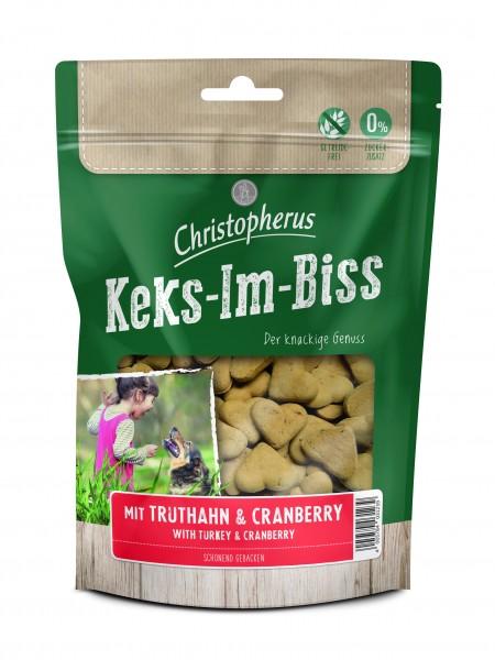 Keks-Im-Biss mit Truthahn & Cranberry