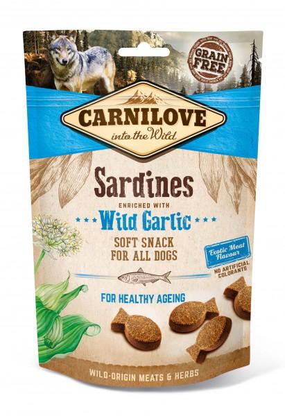 Soft Snack - Sardinen mit Bärlauch