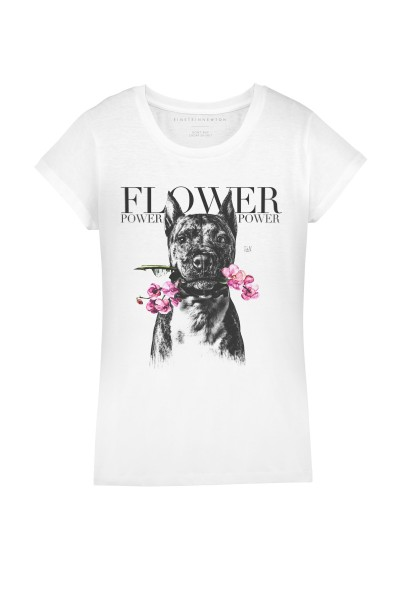 FLOWER DOG T-SHIRT RODEO